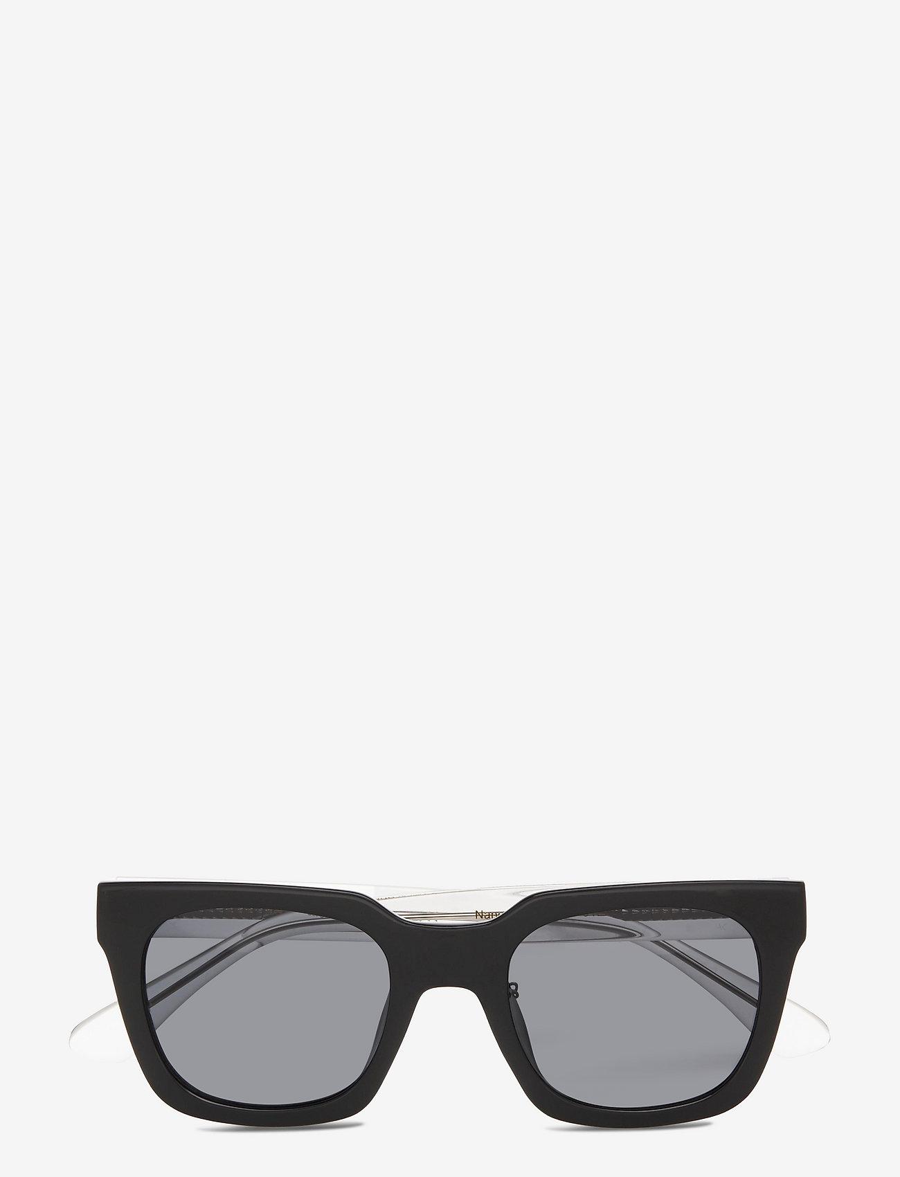 A.Kjærbede - Nancy - d-vormige zonnebril - black - 1