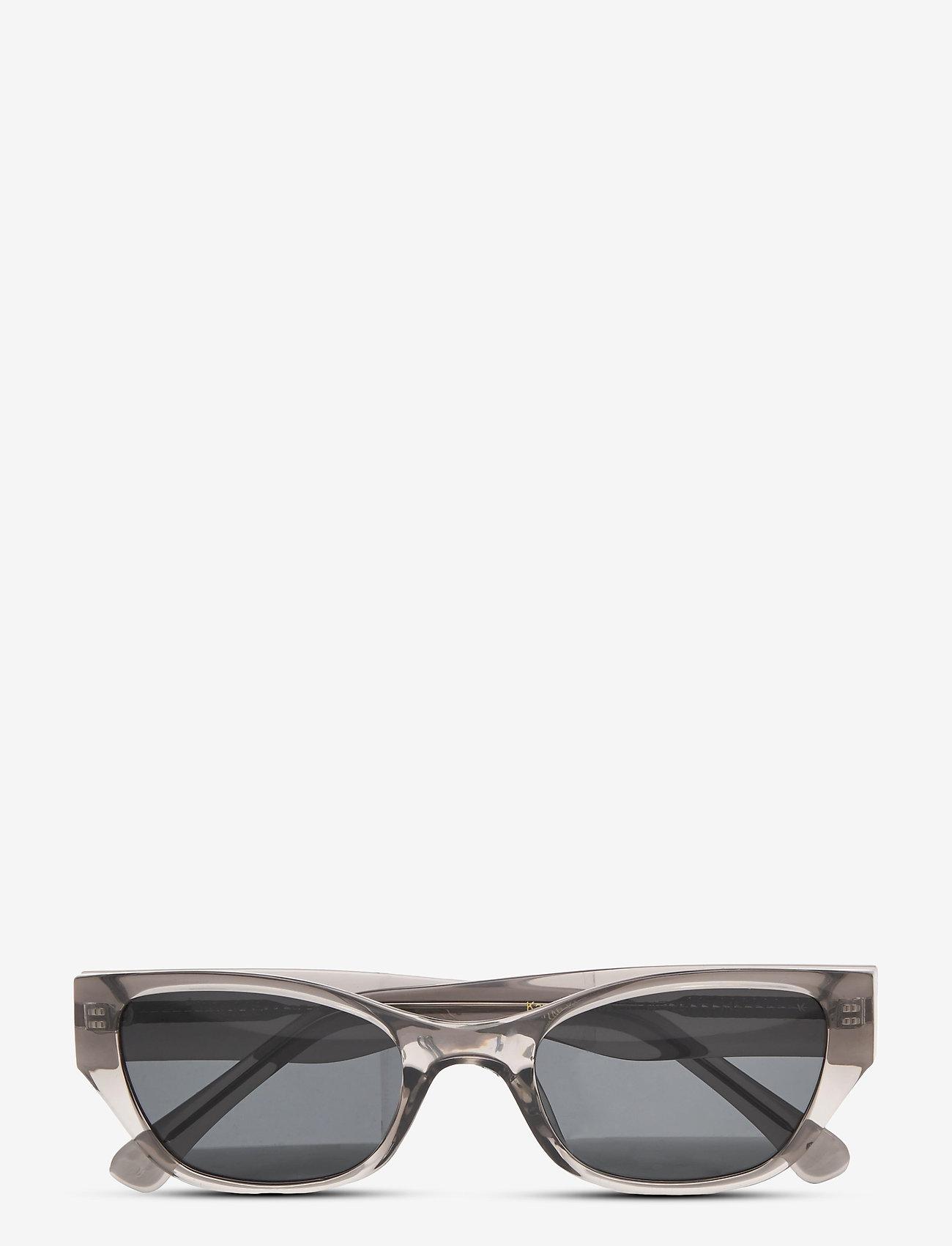 A.Kjærbede - Kanye - d-shaped - grey transparent - 1