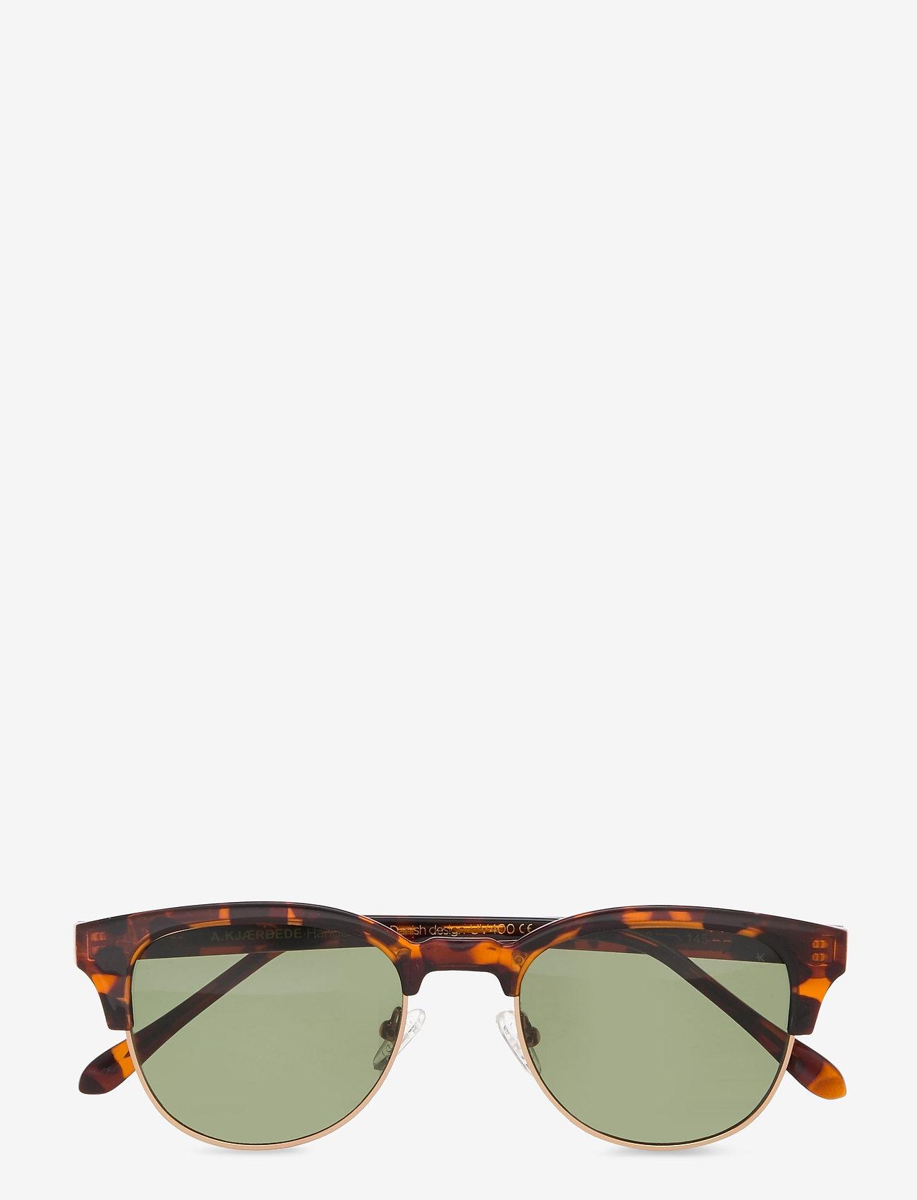 A.Kjærbede - Club Bate - d-vormige zonnebril - demi tortoise - 1