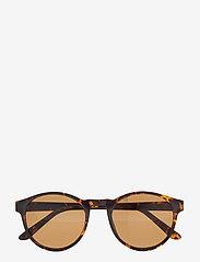 A.Kjærbede - Marvin - ronde zonnebril - demi tortoise - 1