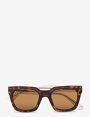 A.Kjærbede - Nancy - d-vormige zonnebril - demi tortoise - 1