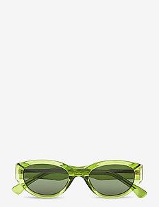 Winnie - d-vormige zonnebril - light olive transparent