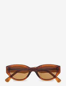 Winnie - d-vormige zonnebril - brown