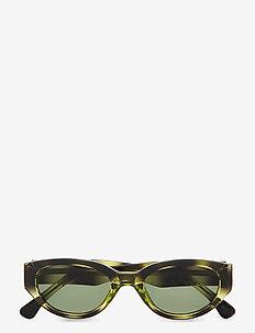 Winnie - d-vormige zonnebril - demi olive