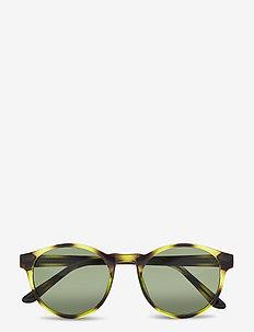 Marvin - ronde zonnebril - demi olive