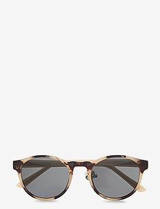 Marvin - ronde zonnebril - hornet