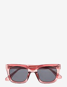 Nancy - d-shaped - soft red transparent