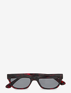 Bror - d-vormige zonnebril - demi wine red