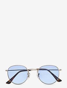 Hello - ronde zonnebril - grey/blue
