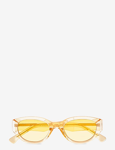 Winnie - d-shaped - yellow transparent