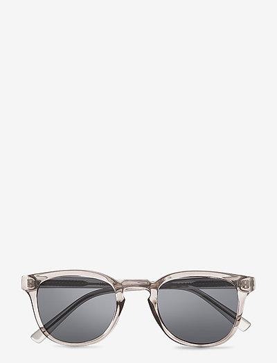 Bate - d-shaped - grey transparent