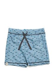 Gwen UV50+ Swim Shorts - STONE BLUE TRIANGLE