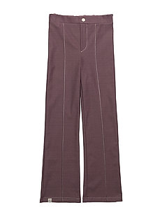 Hecco Box Pants - PLUM WINE