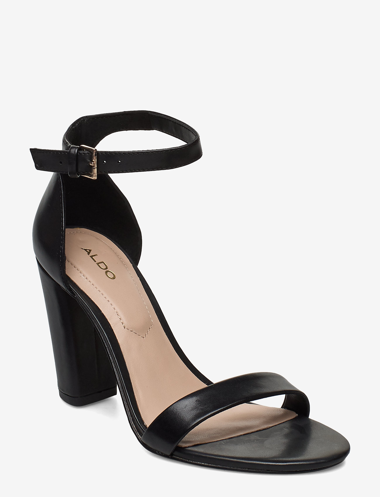 Aldo - JERAYCLYA - høyhælte sandaler - black