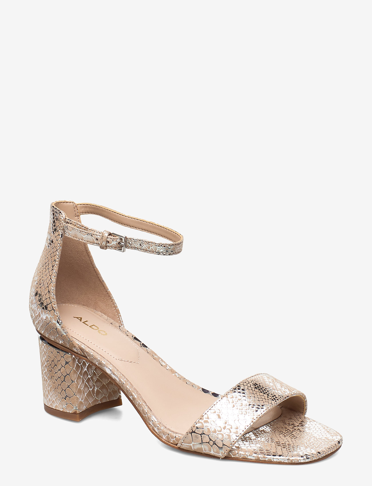 Aldo - VALENTINA - høyhælte sandaler - light silver