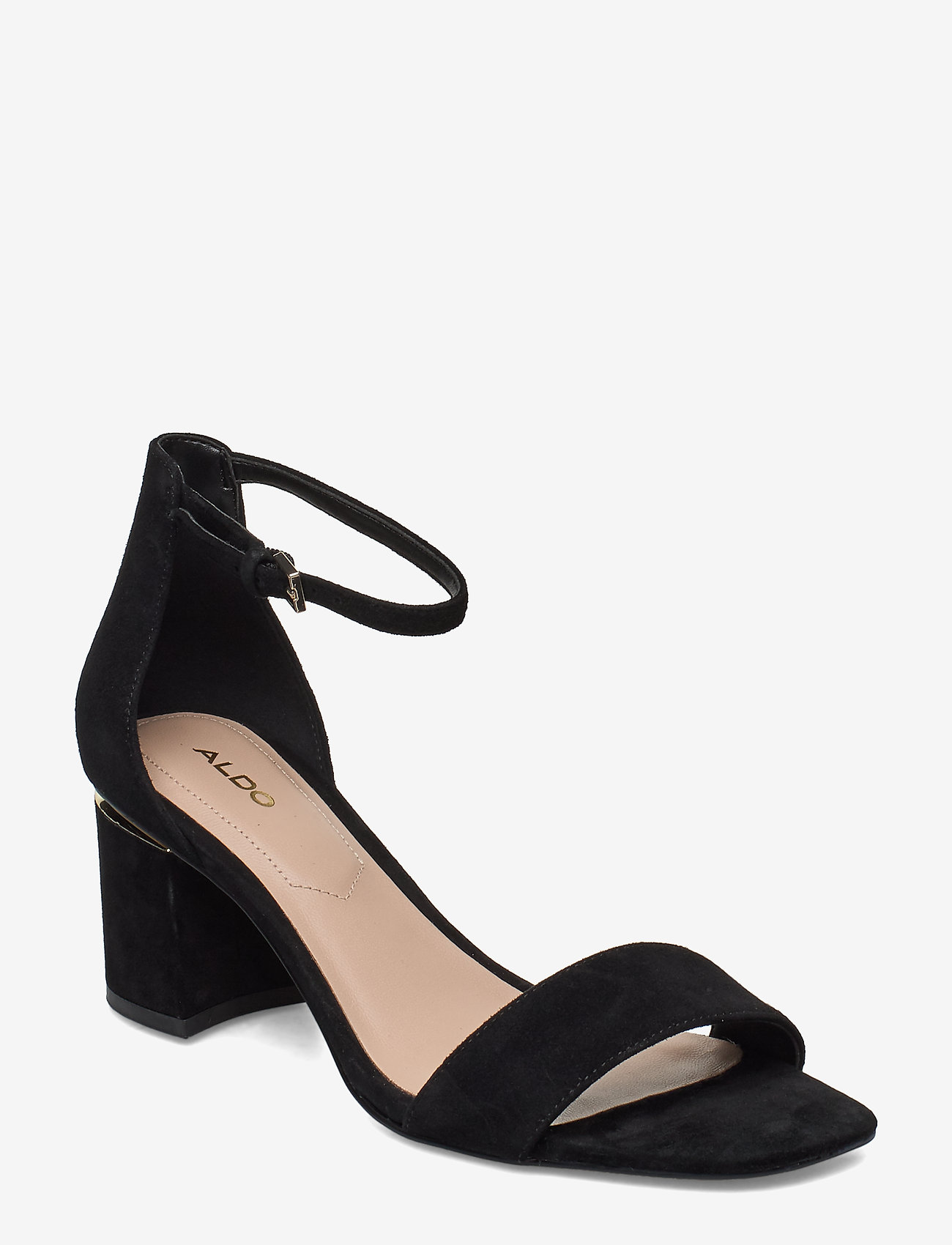 Aldo - VALENTINA - høyhælte sandaler - black