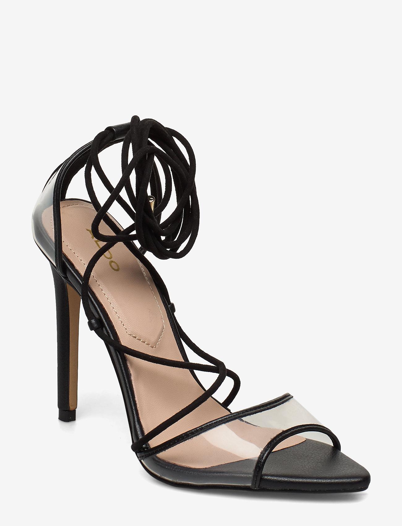 Aldo - AMENABAR - korolliset sandaalit - black - 0