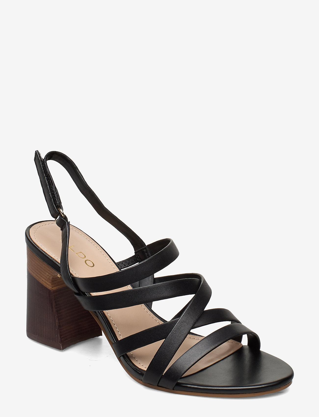 Aldo - DINDILOA - høyhælte sandaler - black