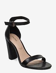 Aldo - JERAYCLYA - høyhælte sandaler - black - 0
