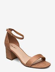 Aldo - FRAZISKA - høyhælte sandaler - light brown - 0