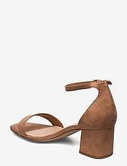 Aldo - FRAZISKA - høyhælte sandaler - light brown - 2