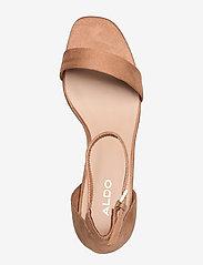 Aldo - FRAZISKA - høyhælte sandaler - light brown - 3