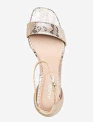 Aldo - VALENTINA - høyhælte sandaler - light silver - 3