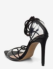 Aldo - AMENABAR - korolliset sandaalit - black - 2