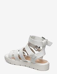 Aldo - GLASSY - flate sandaler - white - 2