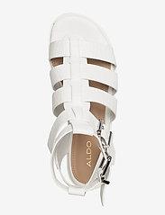 Aldo - GLASSY - flate sandaler - white - 3