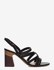 Aldo - DINDILOA - høyhælte sandaler - black - 1