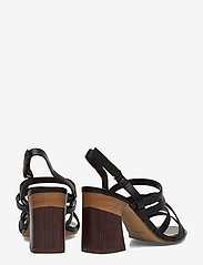 Aldo - DINDILOA - høyhælte sandaler - black - 4