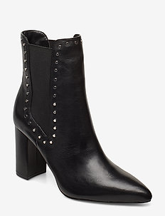 PROELIA - ankelstøvler med hæl - black
