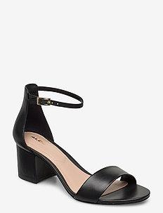 VILLAROSA - højhælede sandaler - other black