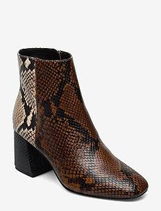 LAYLA - ankelstøvler med hæl - multicolor