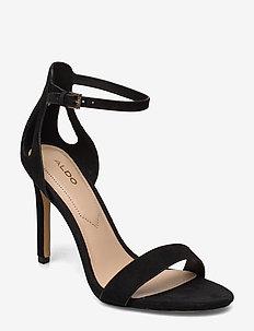 VIOLLA - høyhælte sandaler - black