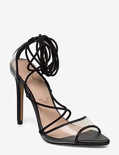 AMENABAR - høyhælte sandaler - black