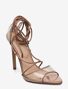 AMENABAR - høyhælte sandaler - bone