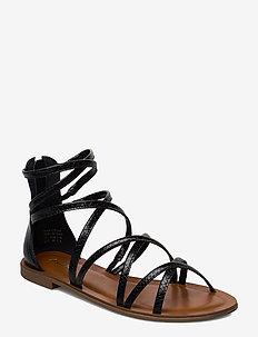 KABANNA - flate sandaler - black