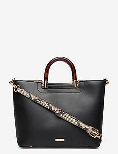 ONERIVIA - fashion shoppers - black