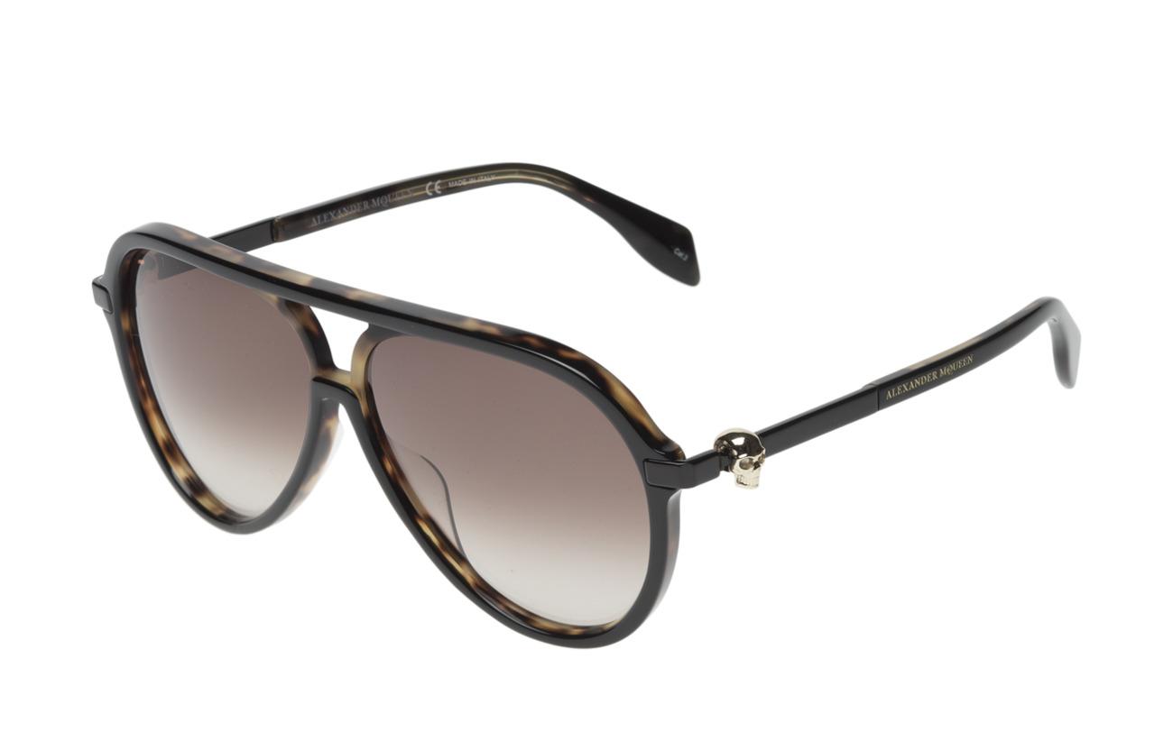 Eyewear Mcqueen brownAlexander Mcqueen black Am0020sblack Eyewear Am0020sblack black brownAlexander rdtsQCh