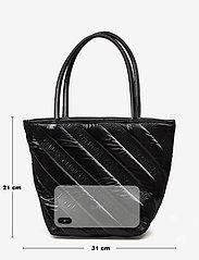 Alexander Wang - ROXY SOFT SMALL TOTE BLACK LOGO QUILTED NYLON - fashion shoppers - black - 2
