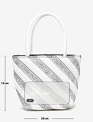 Alexander Wang - ROXY SOFT SMALL TOTE WHITE LOGO QUILTED NYLON - fashion shoppers - white - 2