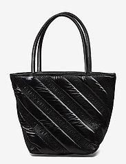 Alexander Wang - ROXY SOFT SMALL TOTE BLACK LOGO QUILTED NYLON - fashion shoppers - black - 0