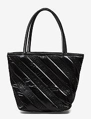 Alexander Wang - ROXY SOFT SMALL TOTE BLACK LOGO QUILTED NYLON - fashion shoppers - black - 3