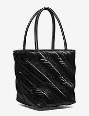 Alexander Wang - ROXY SOFT SMALL TOTE BLACK LOGO QUILTED NYLON - fashion shoppers - black - 4