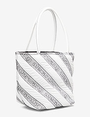 Alexander Wang - ROXY SOFT SMALL TOTE WHITE LOGO QUILTED NYLON - fashion shoppers - white - 4