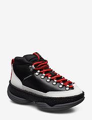 Alexander Wang - a1 HIKER BLACK/RED - chunky sneakers - black - 0