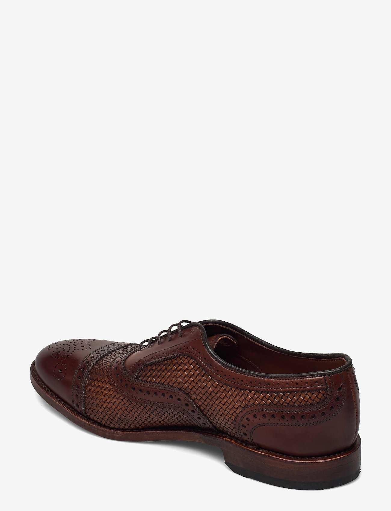 Allen Edmonds - Strand Weave - business - chili - 2