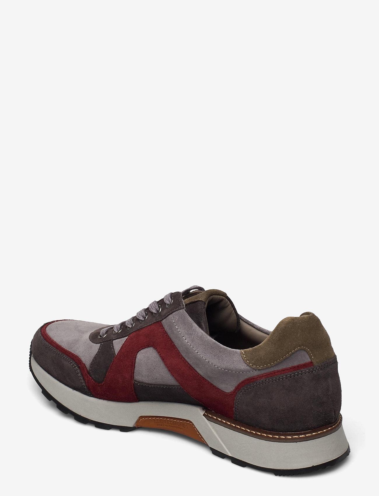 Allen Edmonds - A-Trainer - låga sneakers - grey/burgundy - 2